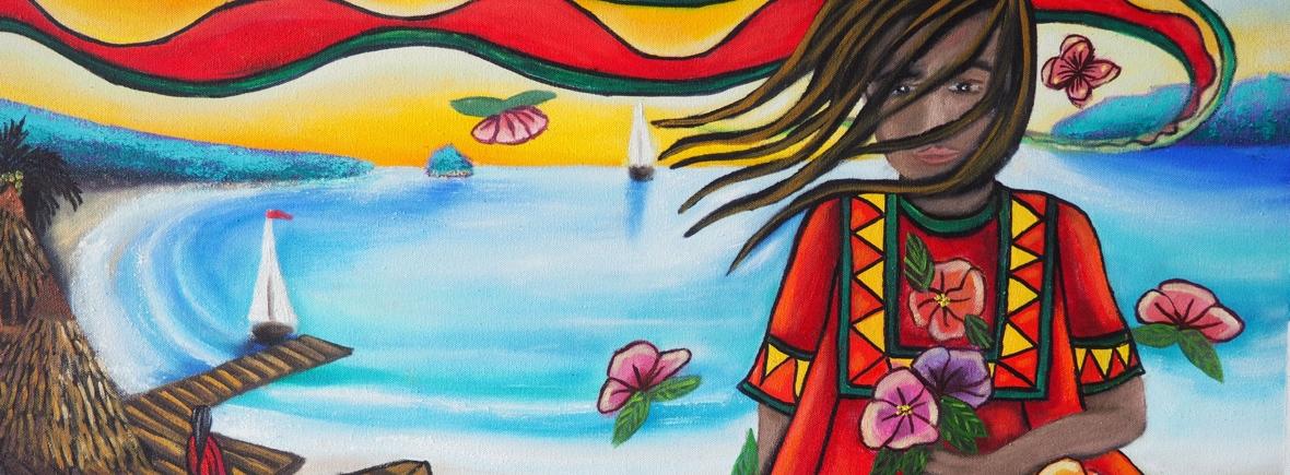La Niña del Tropico by 3fraín Antonio