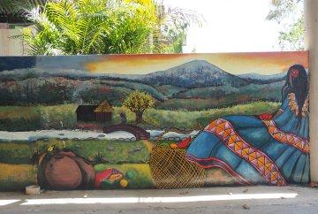 Mural by 3fraín Antonio