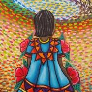 La Niña Impresionista by 3fraín Antonio