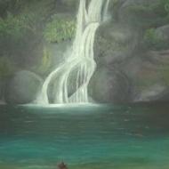 Majagua Waterfall by 3fraín Antonio