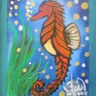 Small Animal Series - Sea Horse by 3fraín Antonio