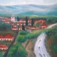 Boquete River by Efraín Antonio