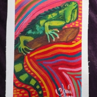 Iguana de Panamá by 3fraín Antonio