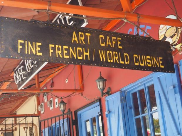 Art Cafe Boquete Sign