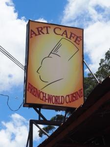Art Cafe Sign Boquete