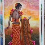 Indian Woman (2) by 3fraín Antonio