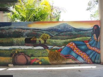 Mural by Efraín Antonio